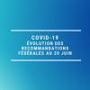 Covid 19 - Recommandations de la FFESSM au 20 juin