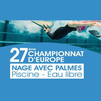 image listing championnat d'europe de nage avec palmes 2019