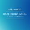 Comité Directeur National n° 483 - Procès verbal