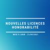 Saisie des licences et honorabilité