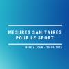 Mesures sanitaire 30 septembre 2021