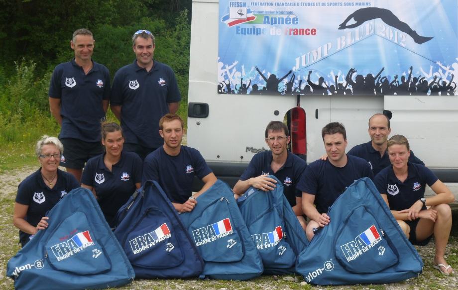 équipe de France apnée